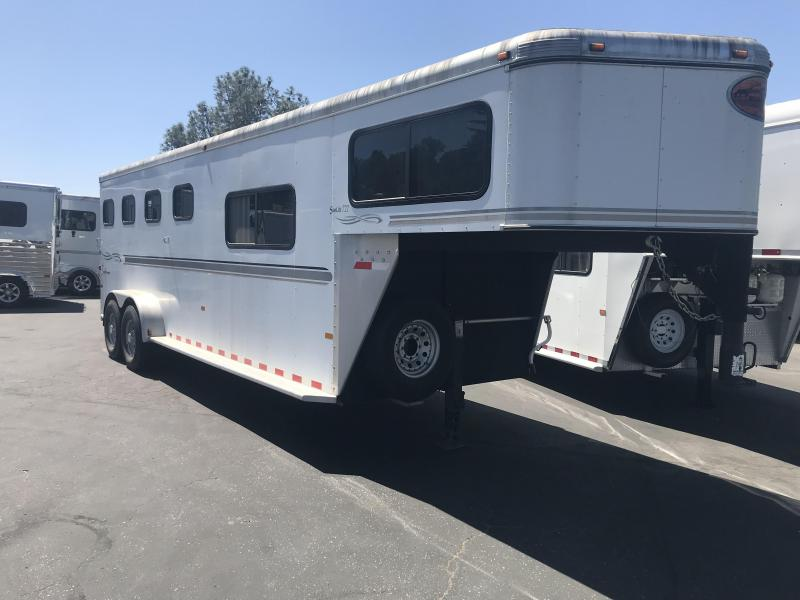 2005 Sundowner SunLite 727 Model 4-Horse Gooseneck Trailer
