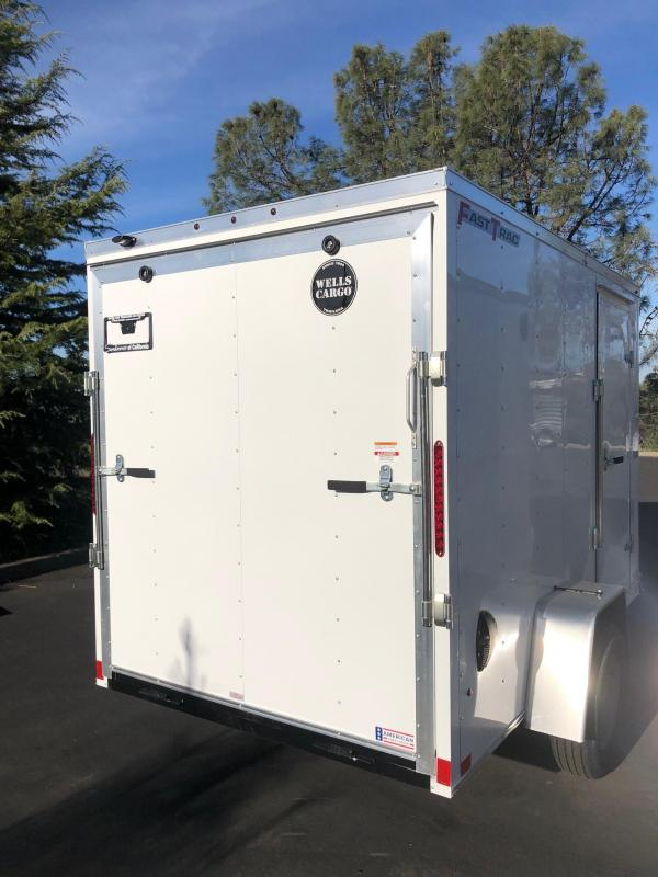2020 Wells Cargo FastTrac 6x10 Cargo Trailer Enclosed Cargo Trailer