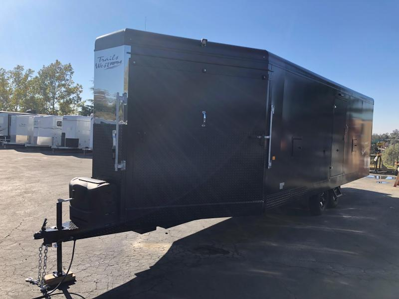 2019 Trails West RPM 28' BP Snowmobile Trailer