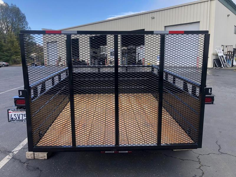 2019 R and J Trailers Inc 6 x 12 Landscape Utility Trailer