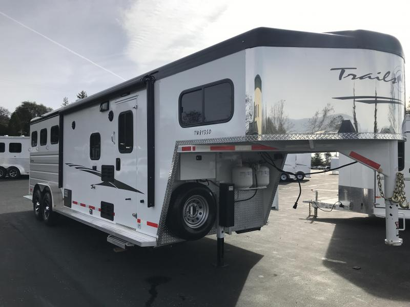 2019 Trails West 3H LQ 8 x 13 Slide Out