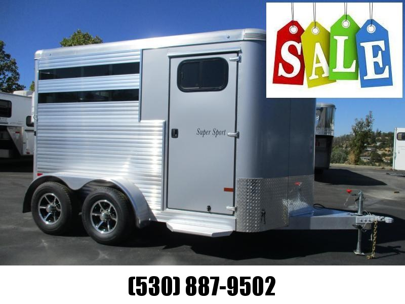 2019 Sundowner Super Sport 2H BP Horse Trailer
