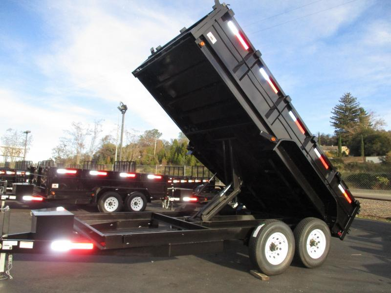 2020 R and J  7 x 14 Dump Trailer 14K