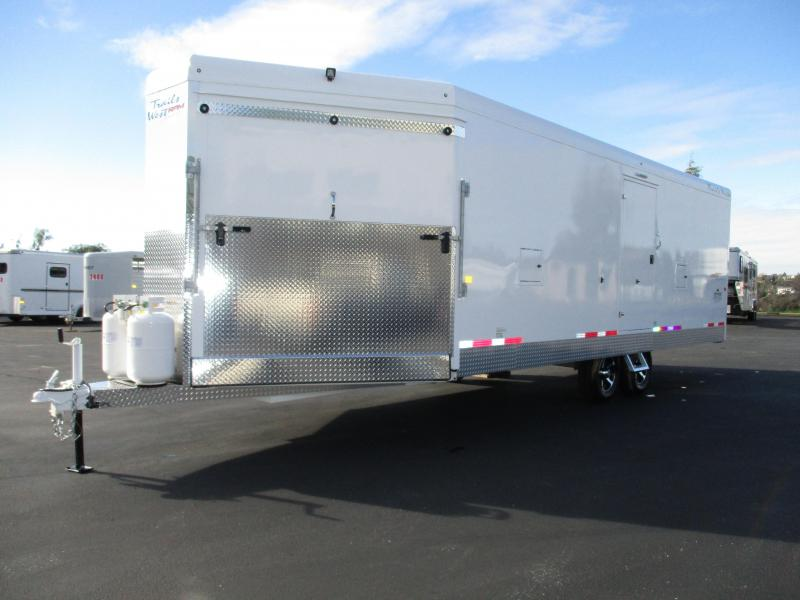 2018 Trails West RPM 28 Burant Edition Snowmobile Trailer