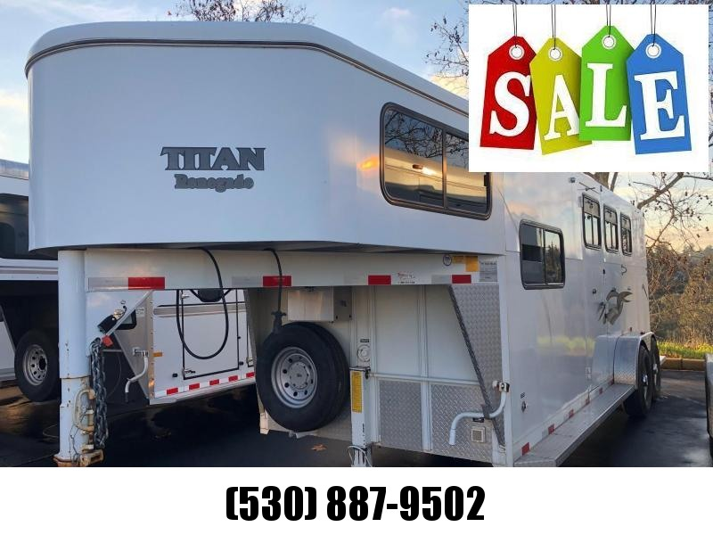 2004 Titan Renegade Model 3-Horse Weekender 7'3""
