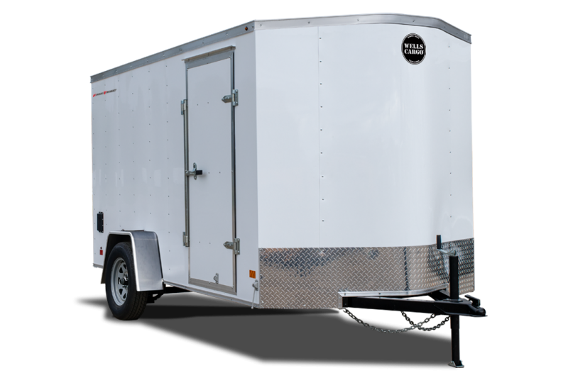 2020 Wells Cargo FastTrac 6x10 Enclosed Cargo Trailer