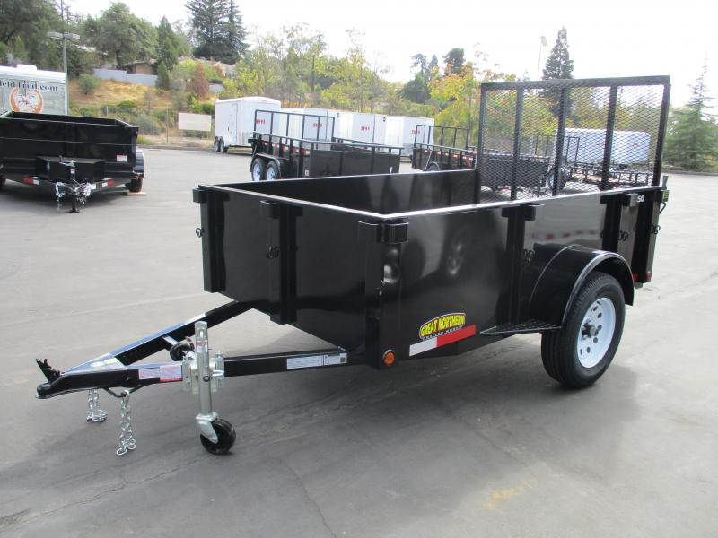 2020 Great Northern Trailer Works 5 x 8 Landscape Utility Trailer