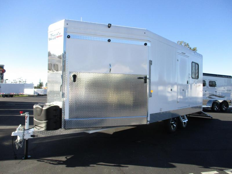 2018 Trails West RPM 20 Snowmobile Trailer