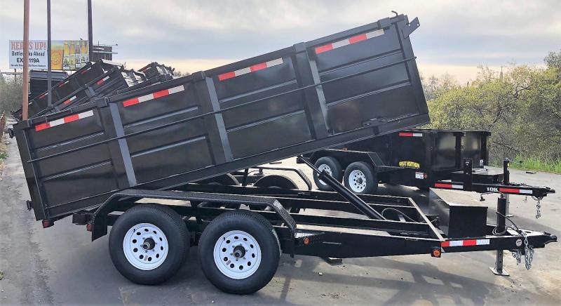 R&J 6x12 Dump 10K with 3' Sides
