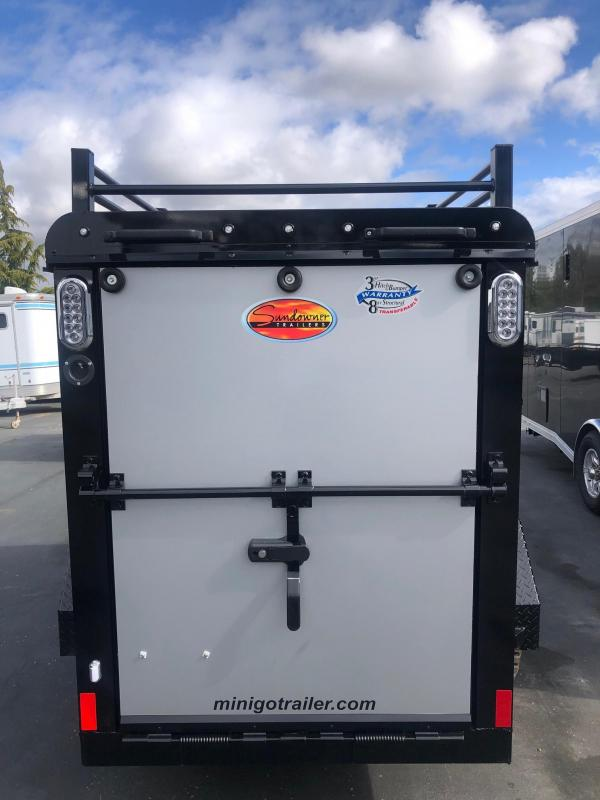 2021 Sundowner Tuff-Go 4 x 8 Enclosed Cargo Trailer