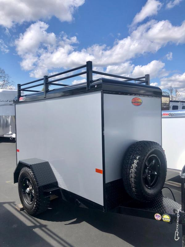 2021 Sundowner Tuff-Go 4 x 8 Enclosed Cargo Trailer