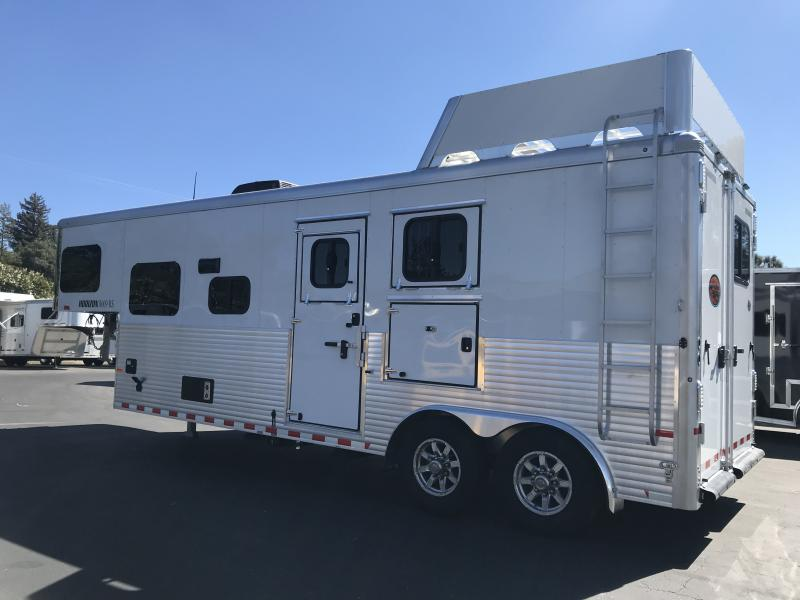 2018 Sundowner Trailers Horizon 8009 2H LQ Horse Trailer