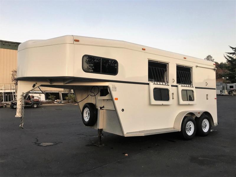 "2006 Trails West 2-Horse Gooseneck ""Classic Model"" 7'6"""