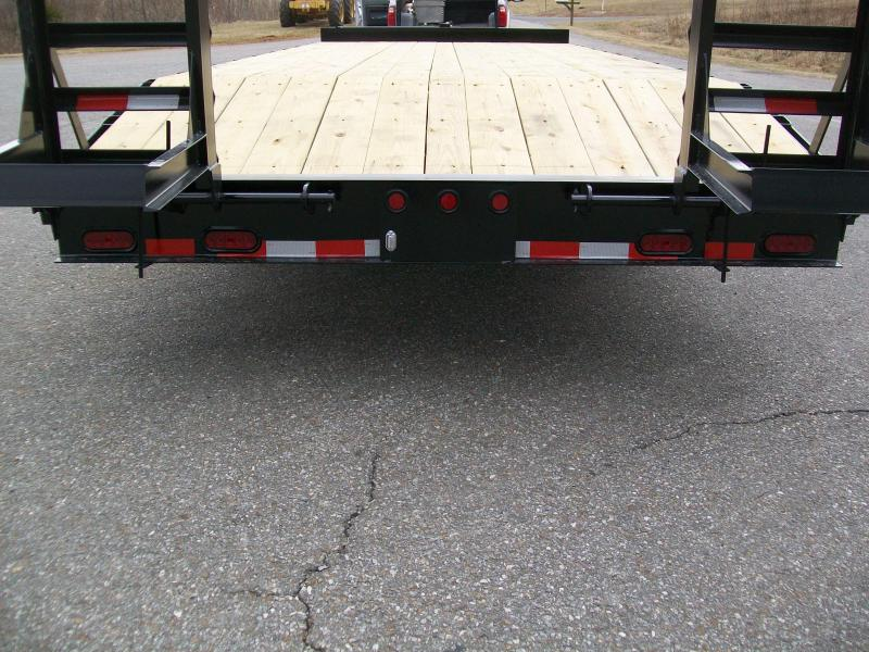 Quality 22' DLX 16K Deck-Over Equipment Trailer