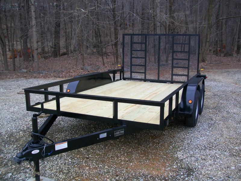 "Better Built 6'10"" x 12 Tandem Gate Trailer"