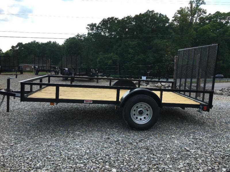"Triple Crown Trailers 6'4"" x 12 Utility Trailer"