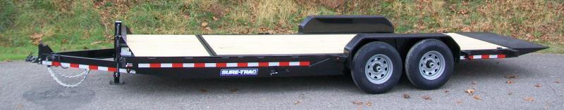 Sure-Trac 22FT Partial Tilt-14K Equipment Trailer