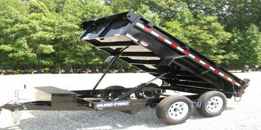 Sure-Trac 5 x 10 Low Profile Homeowner Dump Trailer