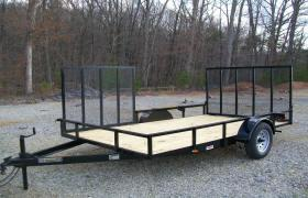 "Better Built 6'10"" x 12 Side Gate"