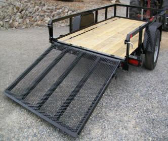 Sure-Trac 5 x 8 Tube Top Utility Trailer