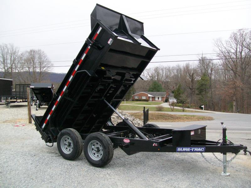 Sure-Trac 6 x 10 10K Low Profile Dump Trailer