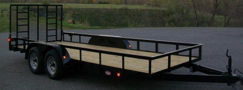 "Better Built 6'10"" x 18 Tandem Landscape Trailer"