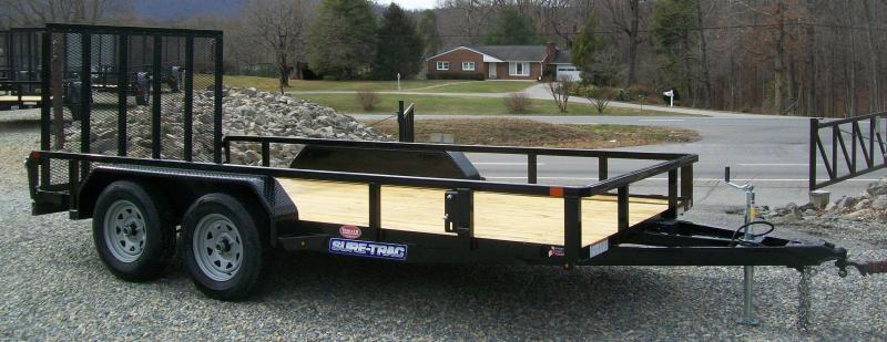 Sure-Trac 6'9 x 14 Tube Top Utility Trailer