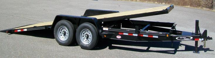 Quality 82 x 22 15K Full Tilt Equipment Trailer