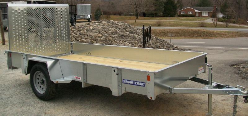 Sure-Trac 6 x 10 Galvanized Utility Trailer