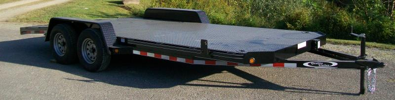 Quality Trailers  83 x 19 DLX Car Trailer