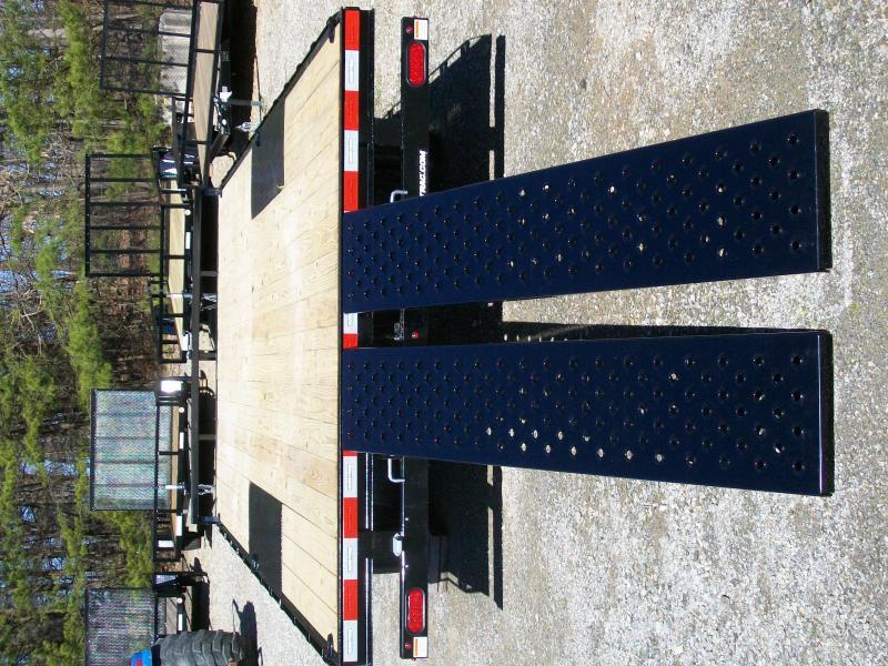 Sure-Trac 8.5 x 18 Low Profile Deck Over Equipment Trailer
