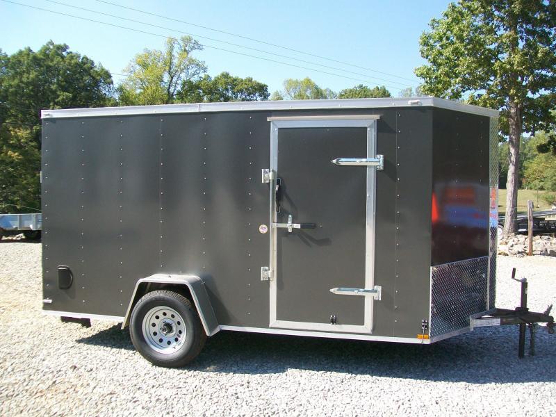 Lark 6 x 12 Ramp Door Enclosed Cargo Trailer