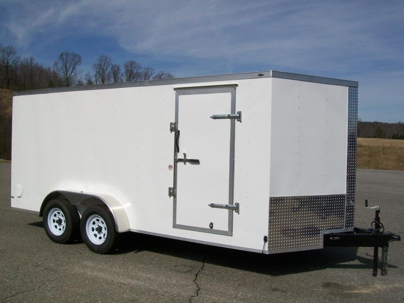 Lark 7 x 16 Enclosed Cargo Trailer