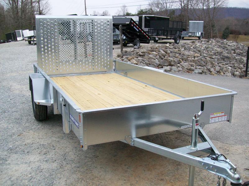 Sure-Trac 6 x 12 Galvanized Utility Trailer
