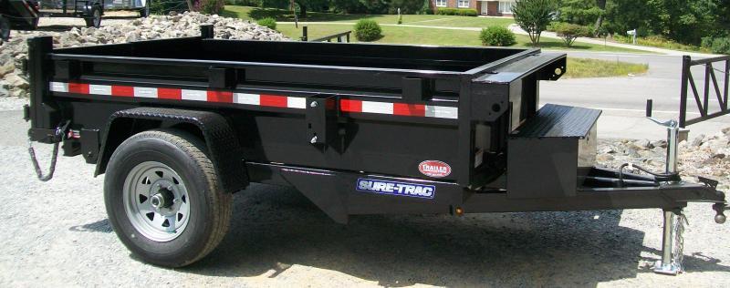 Sure-Trac 62 x 8 Homeowner Dump Trailer