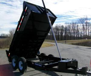 Sure-Trac 82 x 12 14K HD Telescopic Dump Trailer