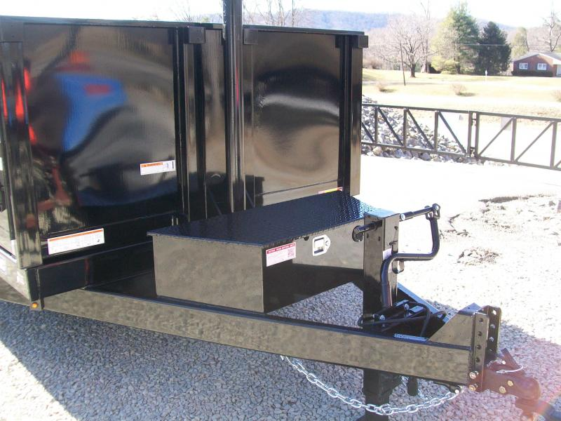 Sure-Trac 82 x 12 14K HD Telescopic Dump Trailer