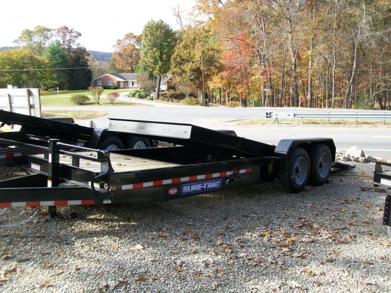 Sure-Trac 22Ft. 16K Partial Tilt Equipment Trailer