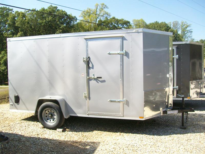 Lark 6 x 12 Ramp Door Enclosed Cargo Trailer