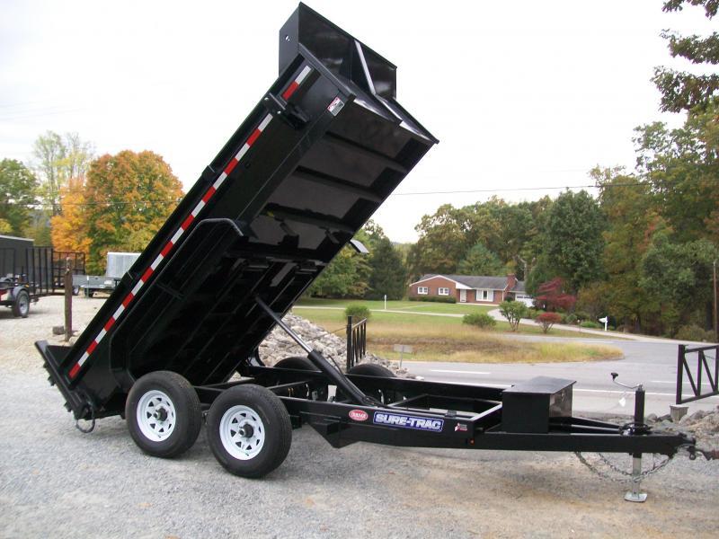 Sure-Trac 6 x 12 10K Low Profile Dump Trailer