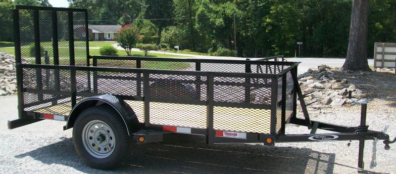 Quality 5 x 10 2Ft. Mesh Side Utility Trailer