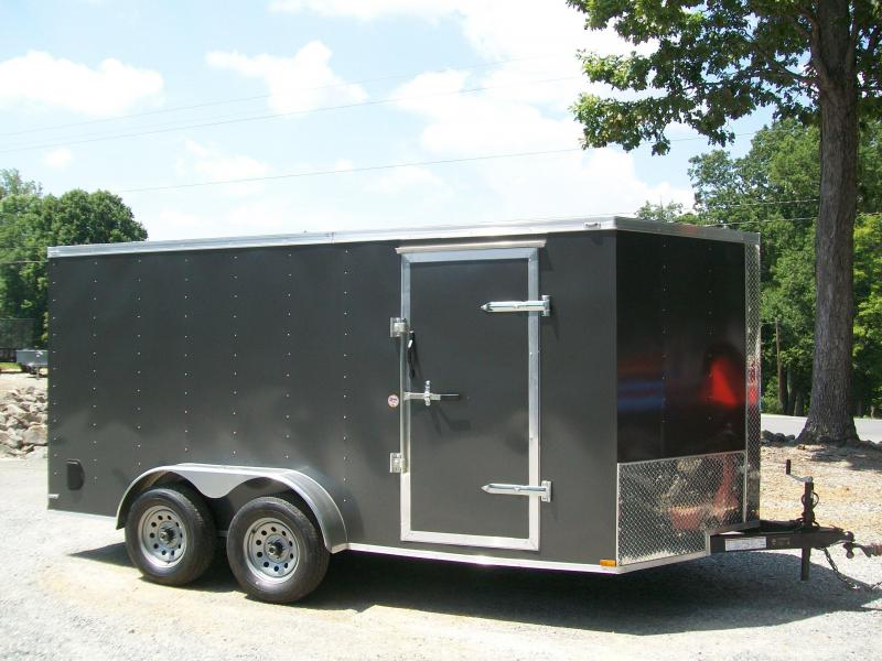 Lark 7 x 14 Ramp Door Enclosed Cargo Trailer