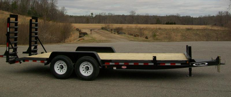 Quality 82 x 20 15K Dlx. Equipment Trailer
