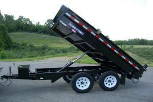 Sure-Trac 6 x 10 10K Deckover Dump Trailer