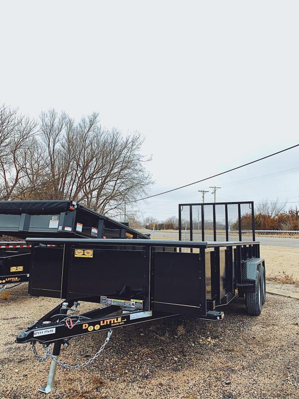 77x16 Doolittle SS Utility Trailer
