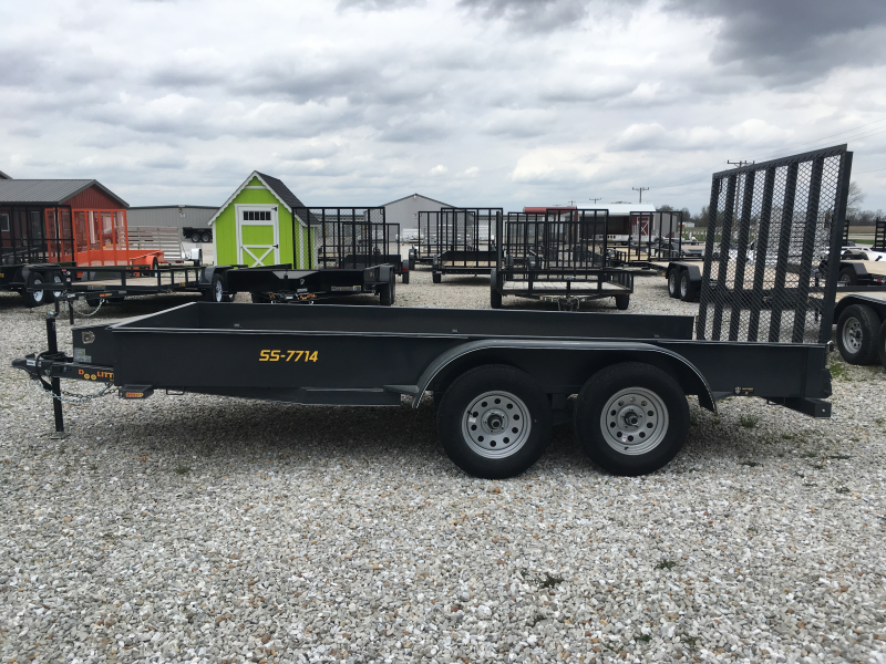 2019 Doolittle SS Series Utility Trailer 77x14