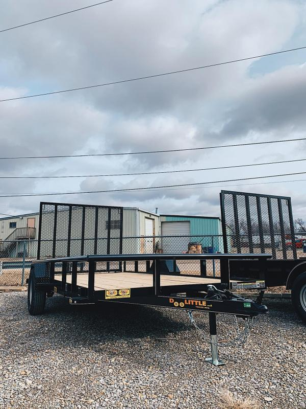 77X14 Doolittle Utility Trailer