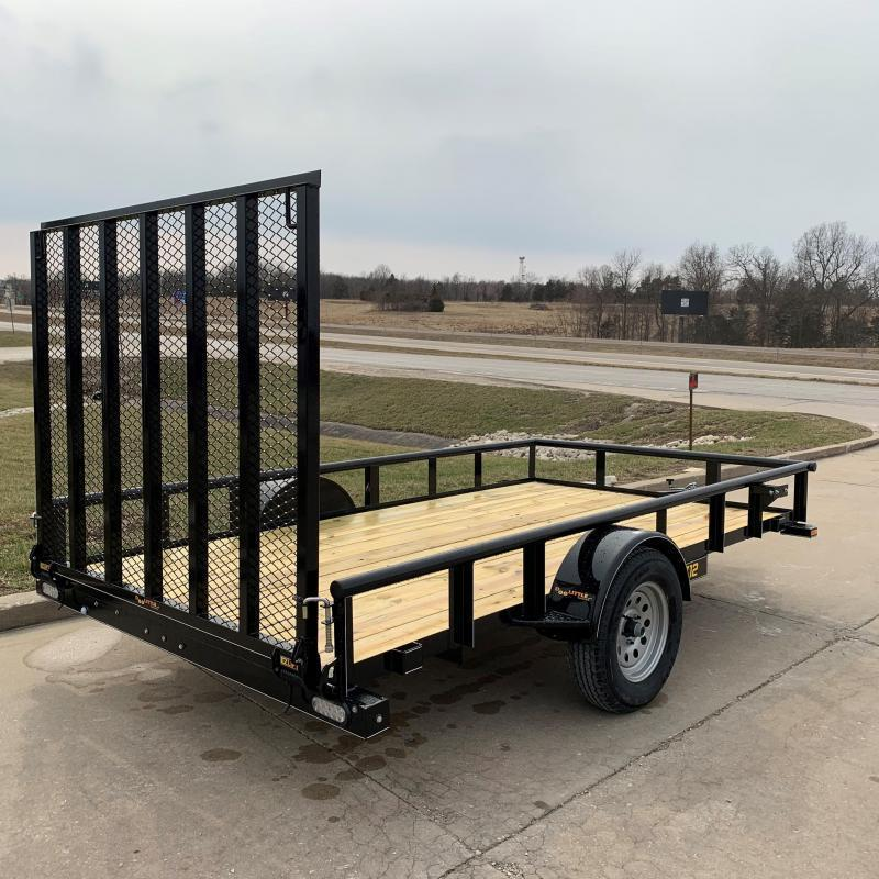 77x12 Doolittle Utility Trailer