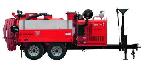 Ring-O-Matic 550 Vacuum Excavator