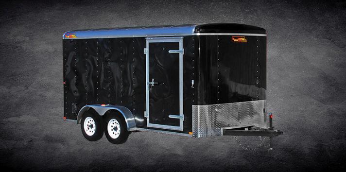 2020 Doolittle Enclosed Cargo Trailer 6x12